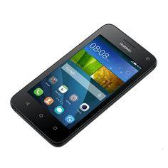 Huawei Ascend Y360 DualSIM 4GB Black okostelefon - www.doktorovics.hu