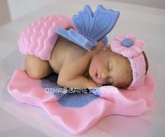 Angel Wings Baby Shower Cake | Butterly Wings Baby Shower Cake Topper 1st By Dinascaketoppers cake ...