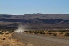 Staubpisten in Namibia