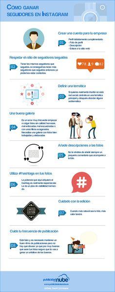 Conseguir seguidores en Instagram puede ser mucho más sencillo poniendo en práctica los ochos consejos que ofrece esta infografía.