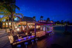 Katanga Beach Bar, X'tan Ha Resort, Ambergris Caye, Belize