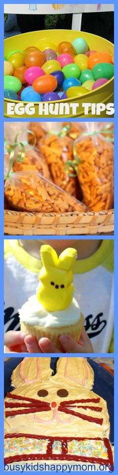 Great and simple ideas for a community Easter Egg Hunt.