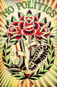 Skin Deep Tattoo, Arm Tattoo, Skinhead Tattoos, Skinhead Reggae, Skinhead Fashion, Rude Boy, Soul Art, Punk Art, Post Punk