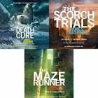 Maze Runner series.  GREAT series. Recommended if you liked the Hunger Games, i may have to look into this