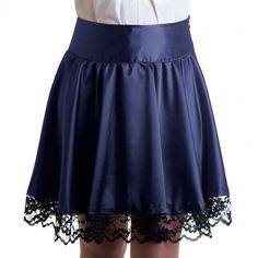 Shitsville Clothing - Victoria Purple Skirt