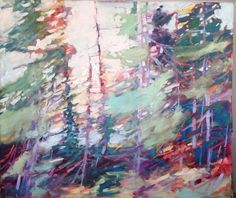 Shake it Out, OIl on Panel, x *Sold* sheila davis - wall space gallery List Of Artists, Various Artists, Landscape Paintings, Landscapes, Space Gallery, Canadian Artists, Wall Spaces, Tree Art, Medium Art