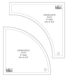 23 - Drunkard\'s Path   Paths, Template and Tutorials