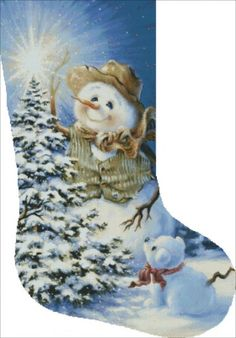 Stocking The Snow Family [GELSINGERST12566] - $14.25 : Heaven And Earth Designs…