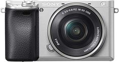Sony Alpha 6300 E-Mount Systemkamera Megapixel, cm Zoll) Display, XGA OLED Sucher, inklusiv mm Objektiv) Silber Sony A6000, Camera Reviews, Gopro Hero, Fujifilm Instax Mini, Camcorder, Camera Lens, Binoculars, Nikon, Lightroom