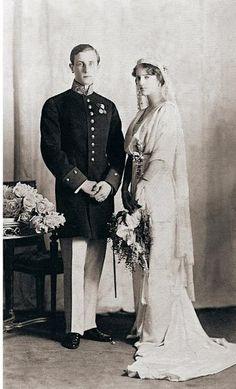 イリーナ・アレクサンドロヴナ公女(ニコライ2世の姪)の結婚式 1914年