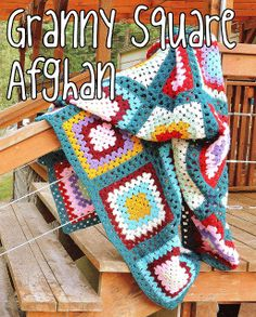 Granny Square Afghan Project