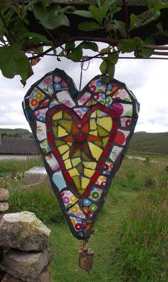 Indoor + outdoor mosaics, sculpture, garden mosaic tables