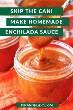 Chicken Enchilada Bake, Recipes With Enchilada Sauce, Homemade Enchilada Sauce, Homemade Enchiladas, Homemade Sauce, Sauce Recipes, Bright Line Eating Recipes, Healthy Eating Recipes, Raw Food Recipes