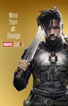 Killmonger - More than a villain Marvel Villains, Marvel Dc Comics, Marvel Characters, Marvel Heroes, Marvel Avengers, Marvel Comic Universe, Comics Universe, Marvel Cinematic Universe, Dc Movies