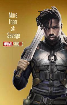 Killmonger - More than a villain Marvel Villains, Marvel Comic Universe, Comics Universe, Marvel Dc Comics, Marvel Characters, Marvel Heroes, Marvel Cinematic Universe, Marvel Avengers, Dc Movies