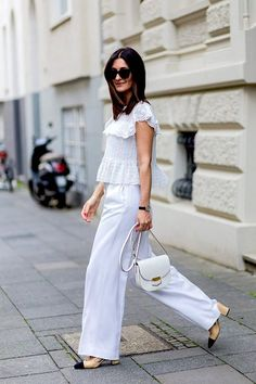 Streetstyle: All White Everything