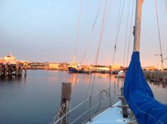 Harbour sunsets