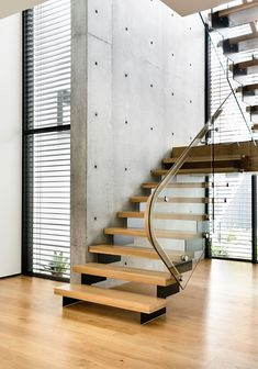 The Mills House Modern House Design Interior Stairs Modern House Design, Modern Interior Design, Casa Loft, Modern Stairs, Staircase Contemporary, Interior Stairs, Staircase Design, Future House, Architecture Design
