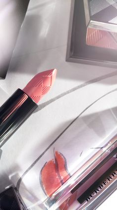 Vibrant lips from Burberry Make-up for Spring/Summer 2014 - shot with #iPhone5s #LFW