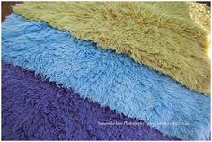 Flokati Dying - RIT dye