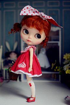 Ruční Blythe oblečení Blythe šaty