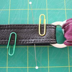 Make Your Own Vinyl/Leather Look Handbag Straps - A Tutorial - Emmaline Bags: Sewing Patterns and Purse Supplies