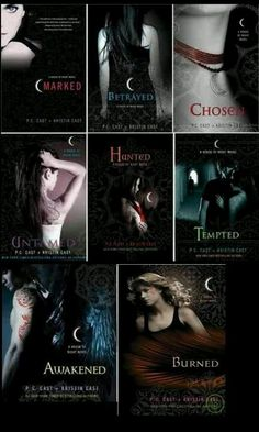 House of Night Series. ~Read A lot Of It But Kinda Got Bored, Eventually. It Was Good Though.