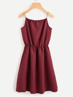 SheIn offers Braided Bead Strap Tie Neck Cami Dress & more to fit your fashionable needs. Casual Dresses, Short Dresses, Casual Outfits, Cute Outfits, Summer Dresses, Summer Outfits, Sleeveless Dresses, Beaded Dresses, Party Outfits