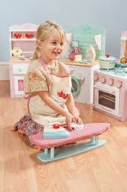 This a sample of the lovely wooden kitchen, laundry sets we stock from Le Toy Van. Full range in stock.