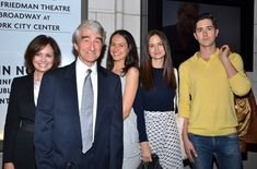 The Waterston family, (from left) Lynn Louisa Woodruff, Sam Waterston, Elizabeth Waterston, Katherine Waterston, and Graham Waterston, attend in support of cast member/son/brother James.(© David Gordon)