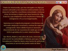 MISIONEROS DE LA PALABRA DIVINA: OREMOS POR LAS VOCACIONES SACERDOTALES