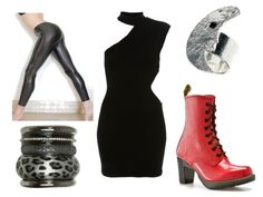 Set inspired by Maureen from RENT- I'm loving those boots.