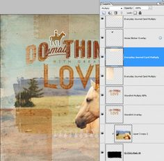 digital tutorial - blending textured mats for a soft patchwork effect in photoshop elements