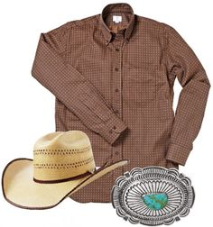 A classic cowboy outfit ...