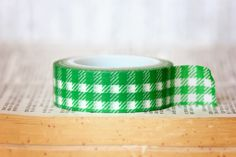 $1.99 Lunch in Central Park    downtowntape.com   #downtowntape #washi #washitape  #greenwashitape #ginghamwashitape