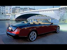 The Vision Mercedes Benz Maybach Cabrio 6 Cabriolet is an Ultra-Luxurious Electric Car that looks awesome. Should be a fun can to drive. Maybach Car, Mercedes Benz Maybach, Mercedes Sedan, 1959 Cadillac, Bugatti, Lamborghini, Maserati, Ferrari Car, Cadillac Eldorado
