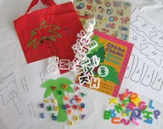 Lots of Literacy Bag ideas!