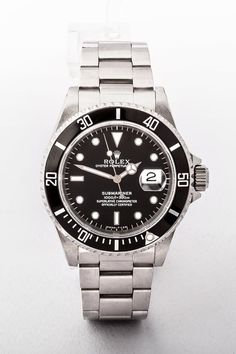 Rolex 2005 Submariner Gents Watch, Original Papers and Box Gents Watches, Rolex Watches, Rolex Submariner 16610, Stainless Steel Rolex, Rolex Gmt Master, Vintage Watches For Men, Watch Brands, Luxury Jewelry, Fathers Day Gifts