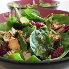 Jamie's Cranberry Spinach Salad @ allrecipes.co.uk
