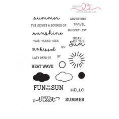 Fun in the Sun stamp set from StudioL2e
