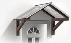 Front Door Wood Awnings Canopies | AUTOMATIC AWNINGS