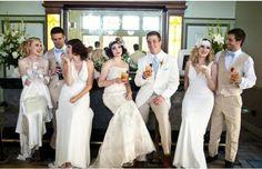 27 Legitimately Awesome Themed Weddings (Slide #8) - Offbeat