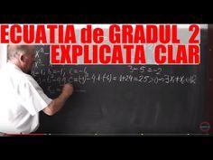 Lectia 350 - Ecuatia de gradul 2 pe intelesul vostru - Matematica cu Proful Online - YouTube Best Teacher, Youtube, Teacher, Youtubers, Youtube Movies