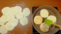 Turtițe cu cașcaval la tigaie – se prepară ușor și se mănâncă repede! - Retete Usoare Kefir, Good Food, Dairy, Cooking Recipes, Cheese, Basket, Bakken, Essen, Chef Recipes