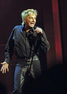 Barry Manilow wearing his Copacabana pants on stage. Favorite Person, My Favorite Things, Barry Manilow, To My Parents, Are You The One, Sexy, How To Wear, 20 Years, Graham