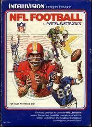 NFL Football - IntelliVision Game