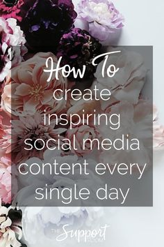 How to creating inspiring content consistently