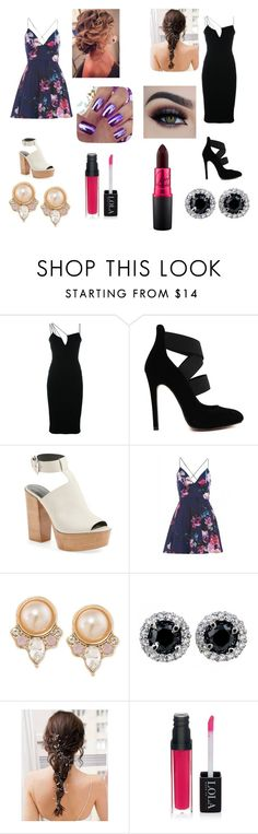 """Royal twin sisters 3"" by keilydelgado on Polyvore featuring Victoria Beckham, Rebecca Minkoff, AX Paris, Carolee, women's clothing, women, female, woman, misses and juniors"