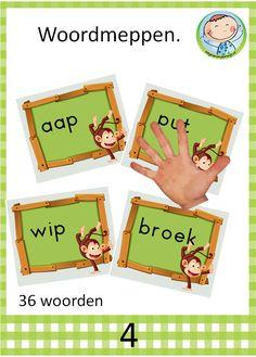 Lezen met kernen – Weg van onderwijs Kids Learning, Spelling, Teaching, Biology, Learning, Education, Teaching Manners, Baby Learning