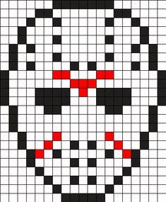 Jason Perler Bead Pattern Pearler Patterns Kandi Beading